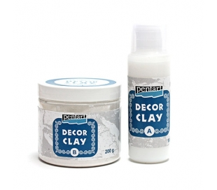 חימר דקורטיבי ליציקה בתבנית 200ג DECOR CLAY