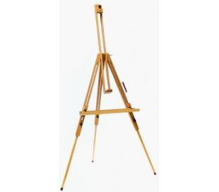 כן ציור מתקפל עץ בוק איכותי עם משטח עבודה