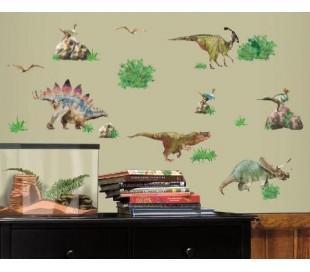 מדבקות קיר דינוזאורים