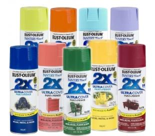 Rust-oleum 2X  צבע ספריי