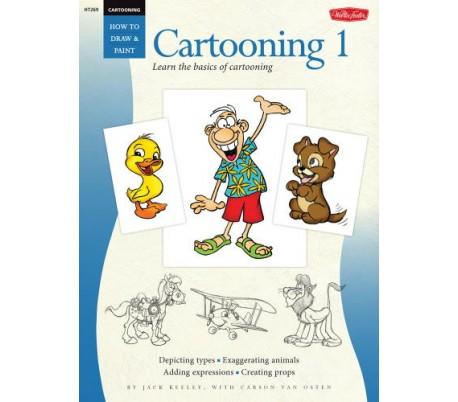 ספר ללימוד ציורי אנימציה - דמויות משעשעות