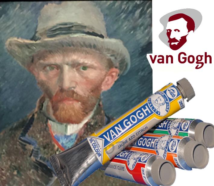 צבע שמן ואן גוגך לציור
