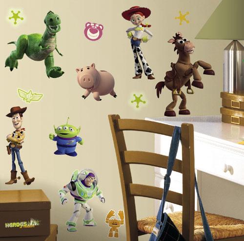 מדבקות קיר צעצוע של סיפור