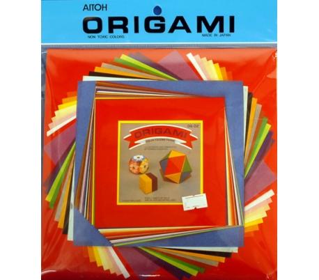 נייר אוריגמי 60 דף גדולים בשלושה גדלים