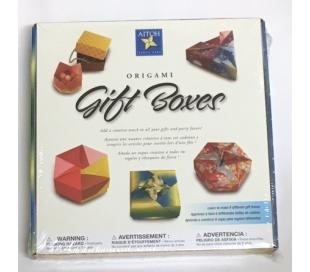 אוריגמי - קיט להכנת קופסאות מתנה