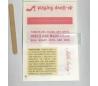 מדבקות גירוד עם ציטוטים צבעוניים -בנות