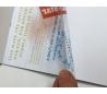 בלוק נייר שקפים - ציטוטים צבעוניים לבנים