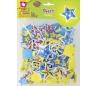 מדבקות סול עם הדפס צבעוני - כוכבים