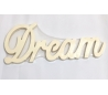 DREAM - מילות השראה מעץ - קטן