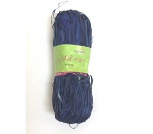 רפיה צבעונית 50 גרם - כחול