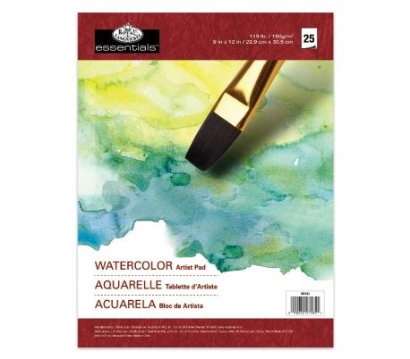 בלוק ציור בצבעי מים רוייאל