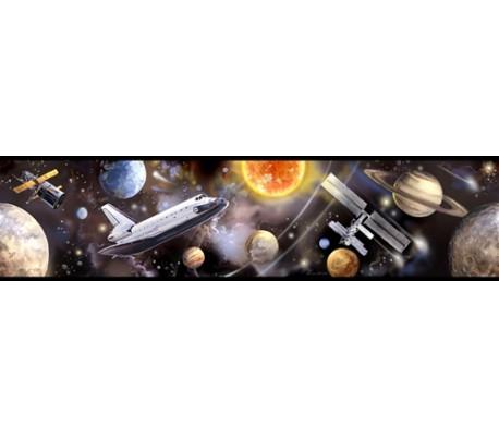 מדבקת בורדר גלקסי חלל