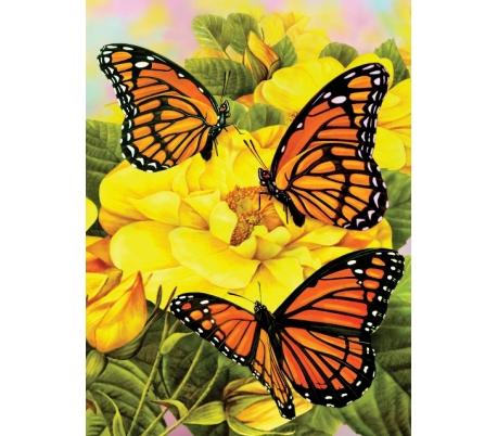 ערכת ציור לילדים - פרפרים