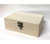 קופסאות מלבניות מעץ  עם סוגר ב- 5 גדלים