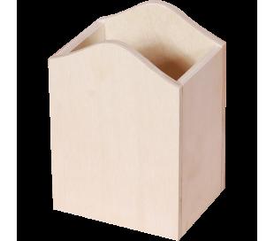 מעמד עטים מהודר מעץ ליצירות