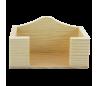 מתקן כרטיסי ביקור  מעץ