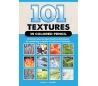 ספר 101 טקסטורות בעפרונות צבעוניים