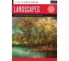 ספר ללימוד ציור נופים באקריליק  LANDSCAPES