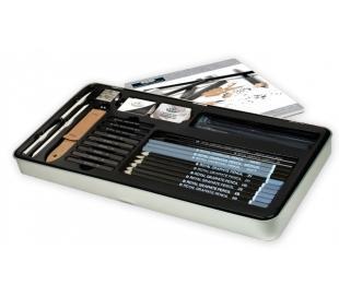 ערכת עפרונות רישום ופחמים