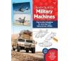 ספר לימוד ציור - רכבים צבאיים