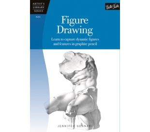 ספר ללימוד ציור בעפרונות רישום - גוף האדם