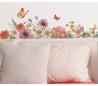 מדבקת קיר גינת פרחים בעיצוב ליזה אודית