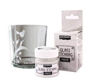 משחת צורב זכוכית