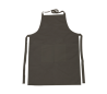 סינר שחור עם כיס  למבוגר