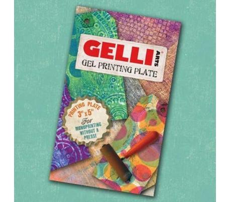 """ג'לי פלייט 12.5*7.5 ס""""מ GELLI PLATE"""
