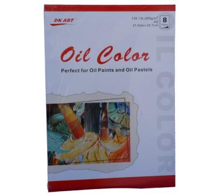 בלוק לציור עם צבעי שמן (ב 2 גדלים)