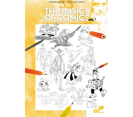 חוברת לאונרדו יסודות הקומיקס 33