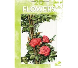 חוברת לאונרדו פרחים 20