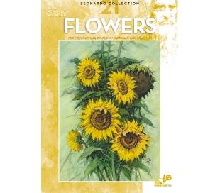 חוברת לאונרדו פרחים 21
