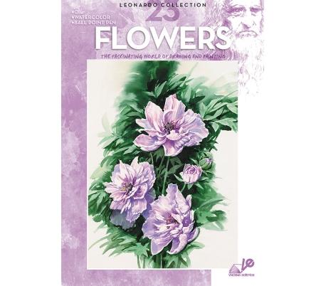 חוברת לאונרדו פרחים 23
