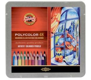 עפרונות צבעוניים קוהינור פוליקולור ב- 5 גדלים