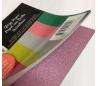 בלוק נייר גימור נצנצים במבחר גוונים 15 *15