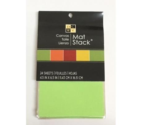 בלוק בדי קנבס צבעוניים 16.5 * 11.4