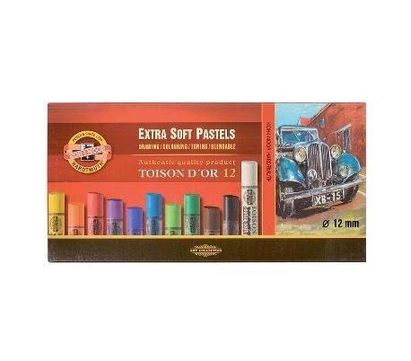 סט פסטל יבש קוהינור רך מאוד EXTRA SOFT במבחר גדלים