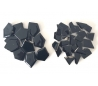 שברי קרמיקה שחורים במבחר 2 גדלים