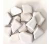 שברי קרמיקה לבנים במבחר 2 גדלים