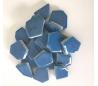 שברי קרמיקה גוונים כחולים במבחר 2 גדלים