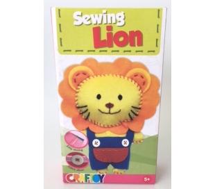 ערכת תפירה לילדים - אריה