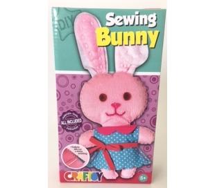 ערכת תפירה לילדים - ארנבת