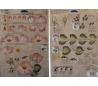 דף תירגול רב פעמי לציור דקורטיבי - שושנה ורודה