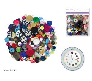 מארז כפתורים מיוחדים ליצירה - 150 גרם