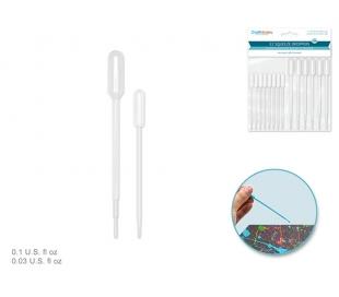 מארז טפי פלסטיק בלחיצה לטיפות- 14 יח