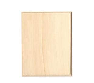 שלט מעץ צורת ריבוע