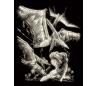 ערכת חריטה גדולה - דינוזאור פטרודקטיל - זוהר בחשיכה
