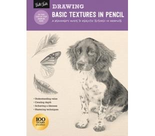 חוברת  הדרכה ללימוד רישום: טקסטורות בגרפיט