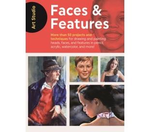 ספר לימוד ציור ראשים, פנים והבעות פנים